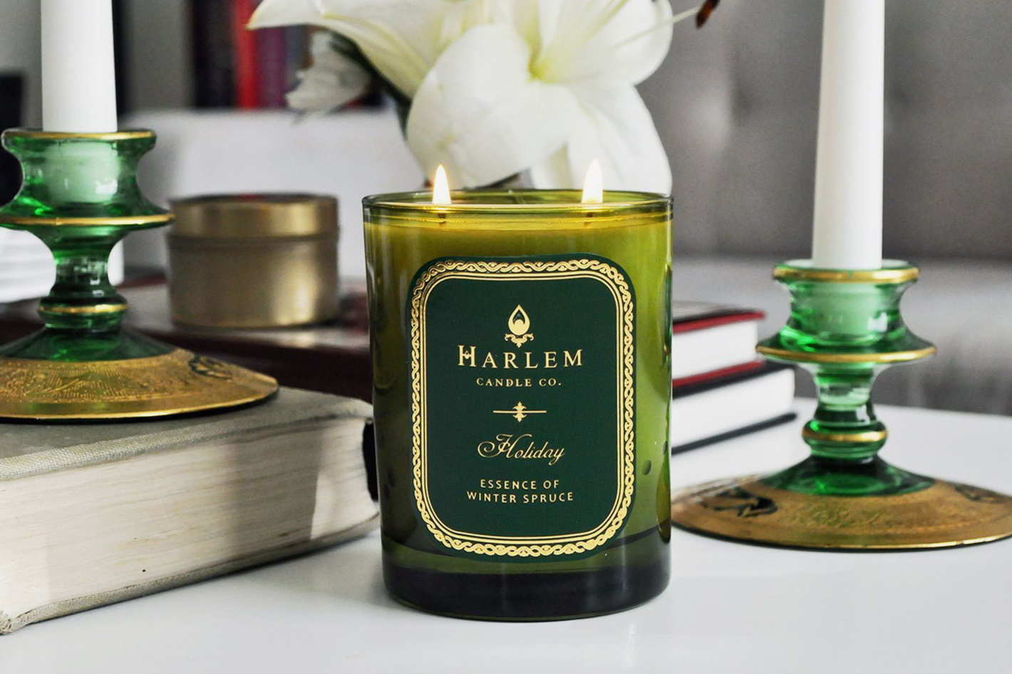 Harlem Candle Company Holiday Luxury Candle