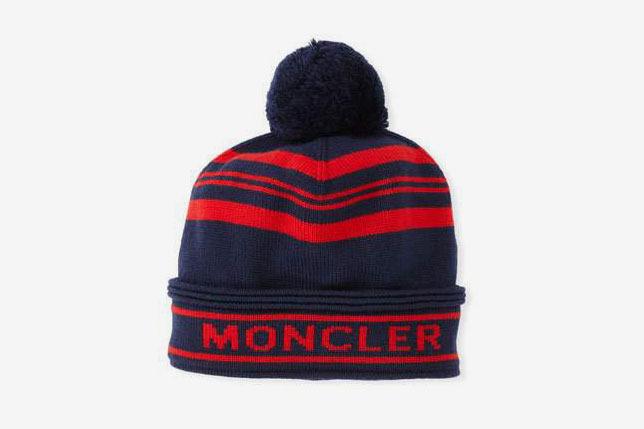 Moncler Women s Jumbo Pompom Beanie Hat at Bergdorf Goodman 9eb47befea7f