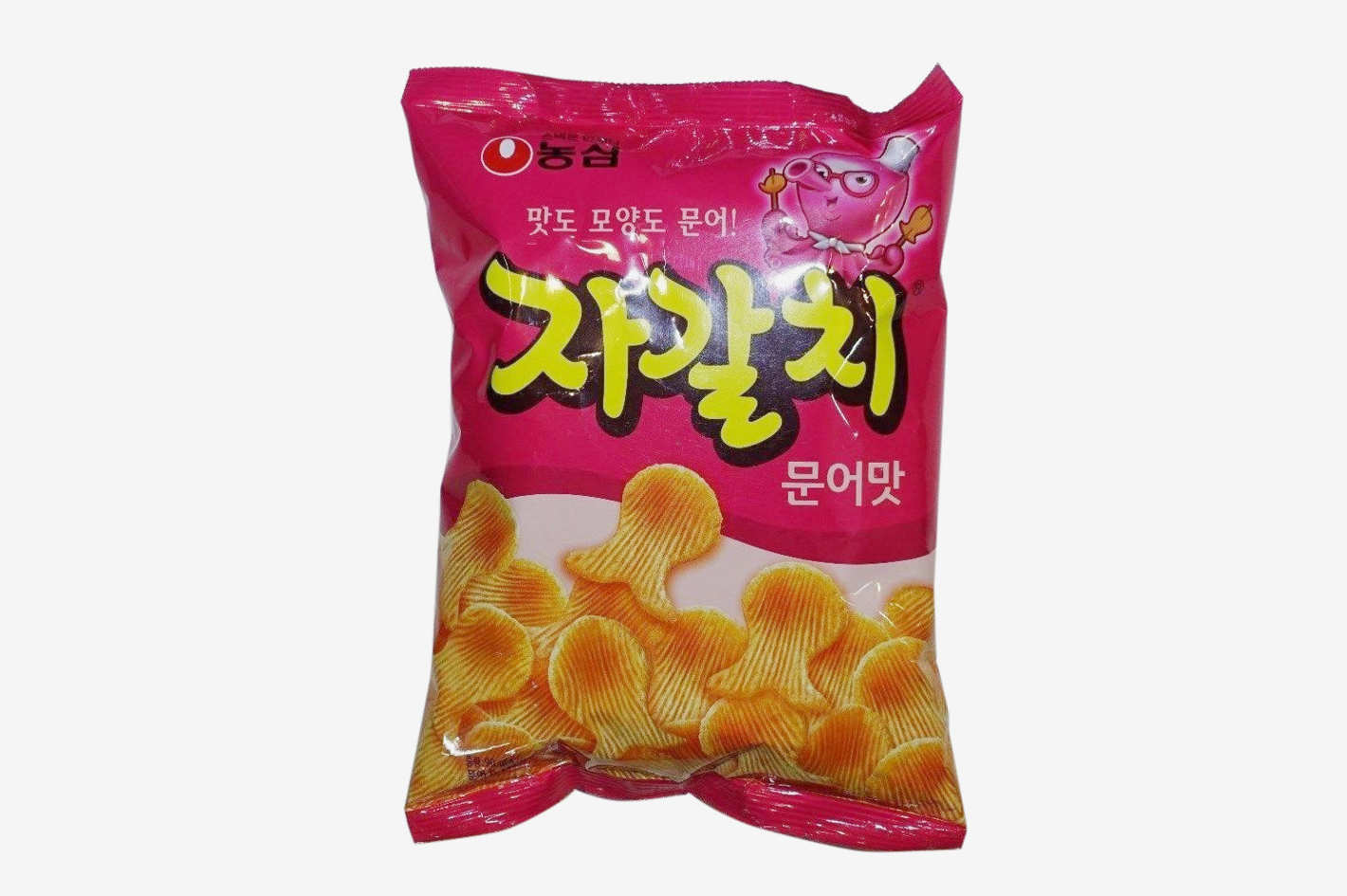 nongshim octopus chips