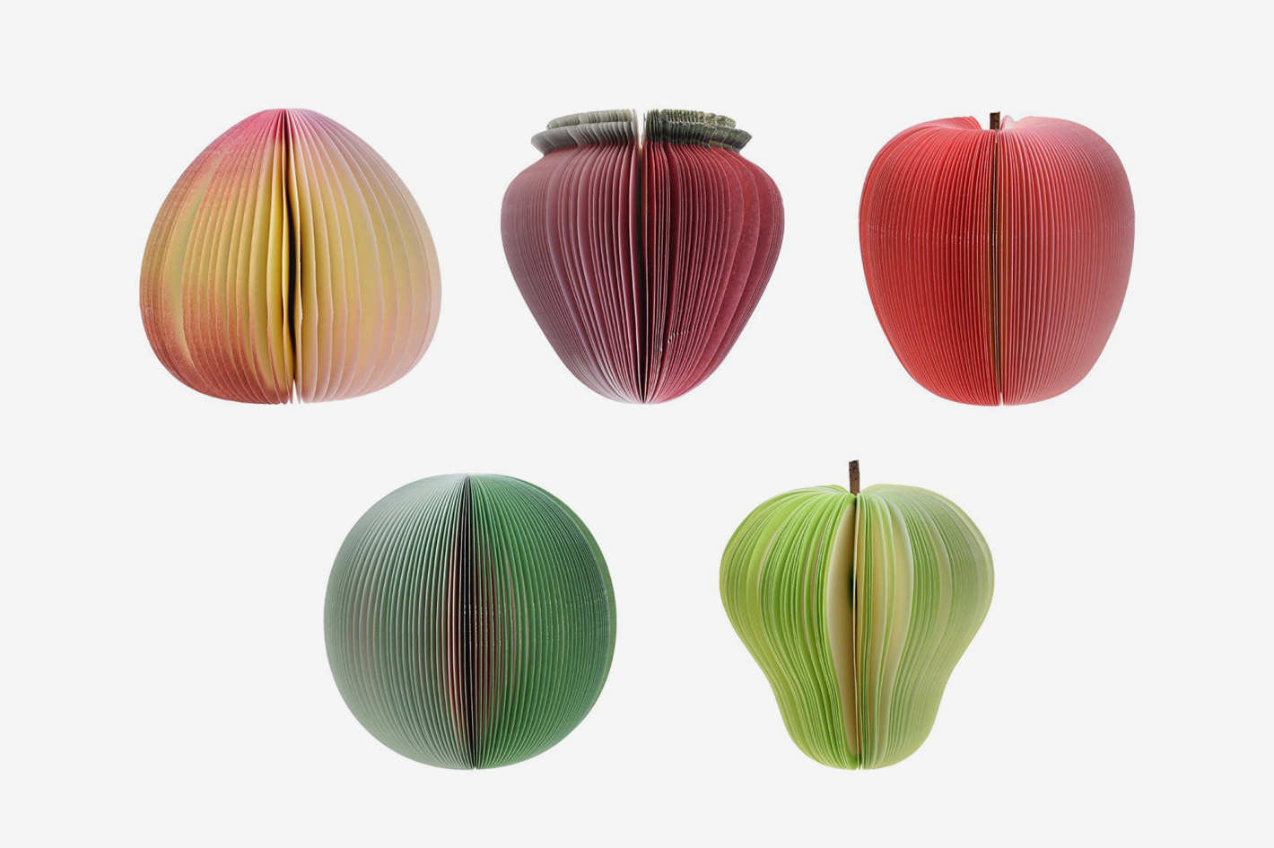 Kloud City Fruit-Shaped Notepads