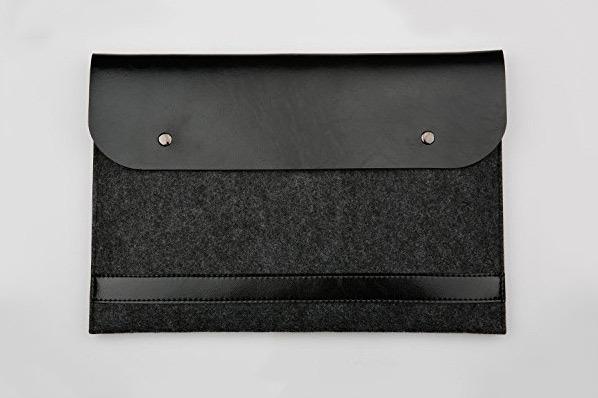Funnylive Leather Laptop Bag