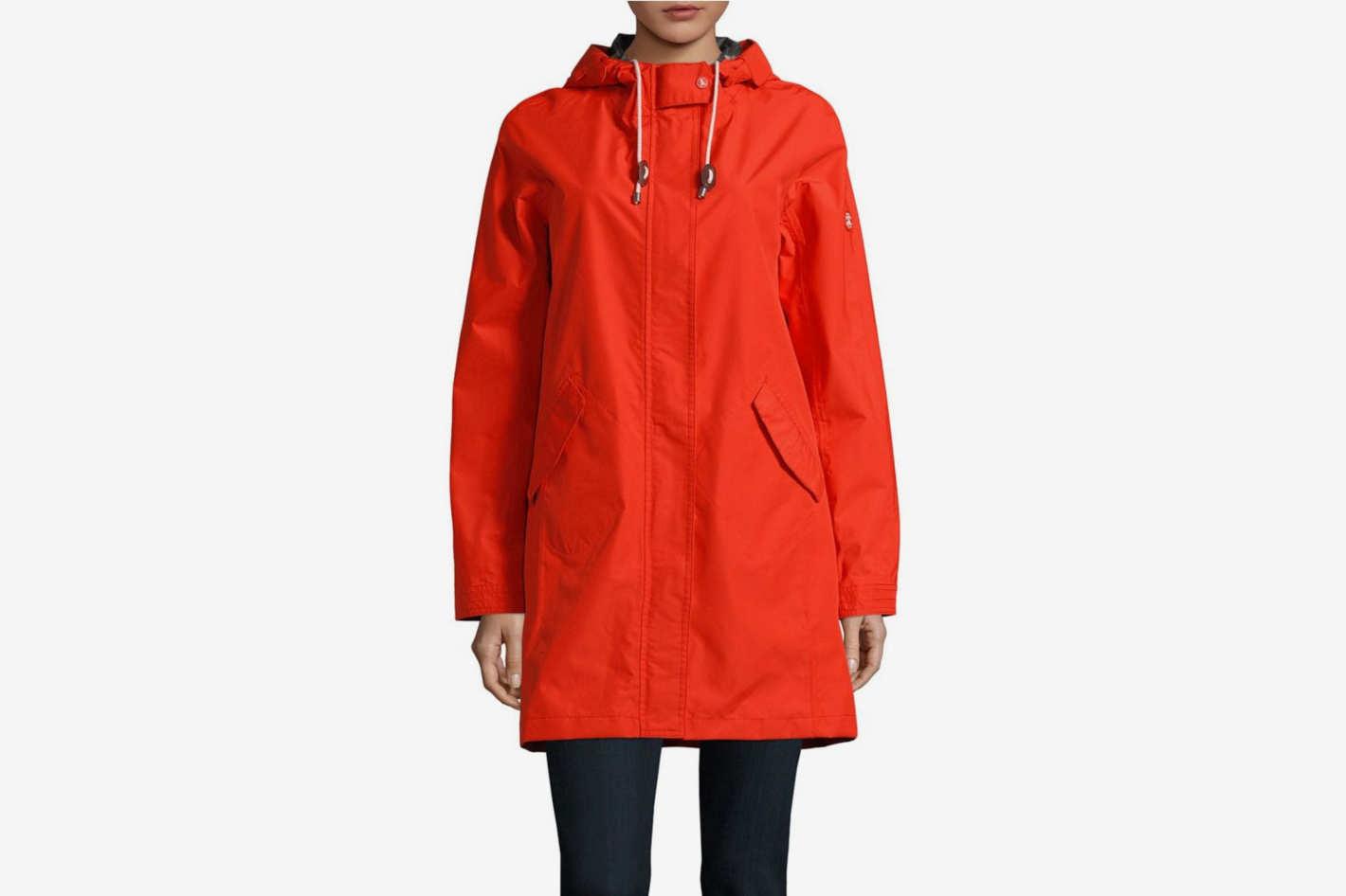 Barbour Drawstring Hooded Jacket