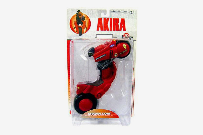 McFarlane Toys 3D Animation From Japan Series 1 Action Figure Akira Kaneda's Bike