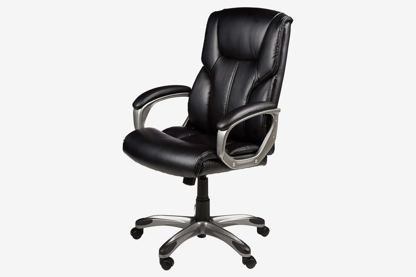 cheap office chairs amazon. Amazonbasics Executive Office Chair Black Leather Cheap Chairs Amazon A