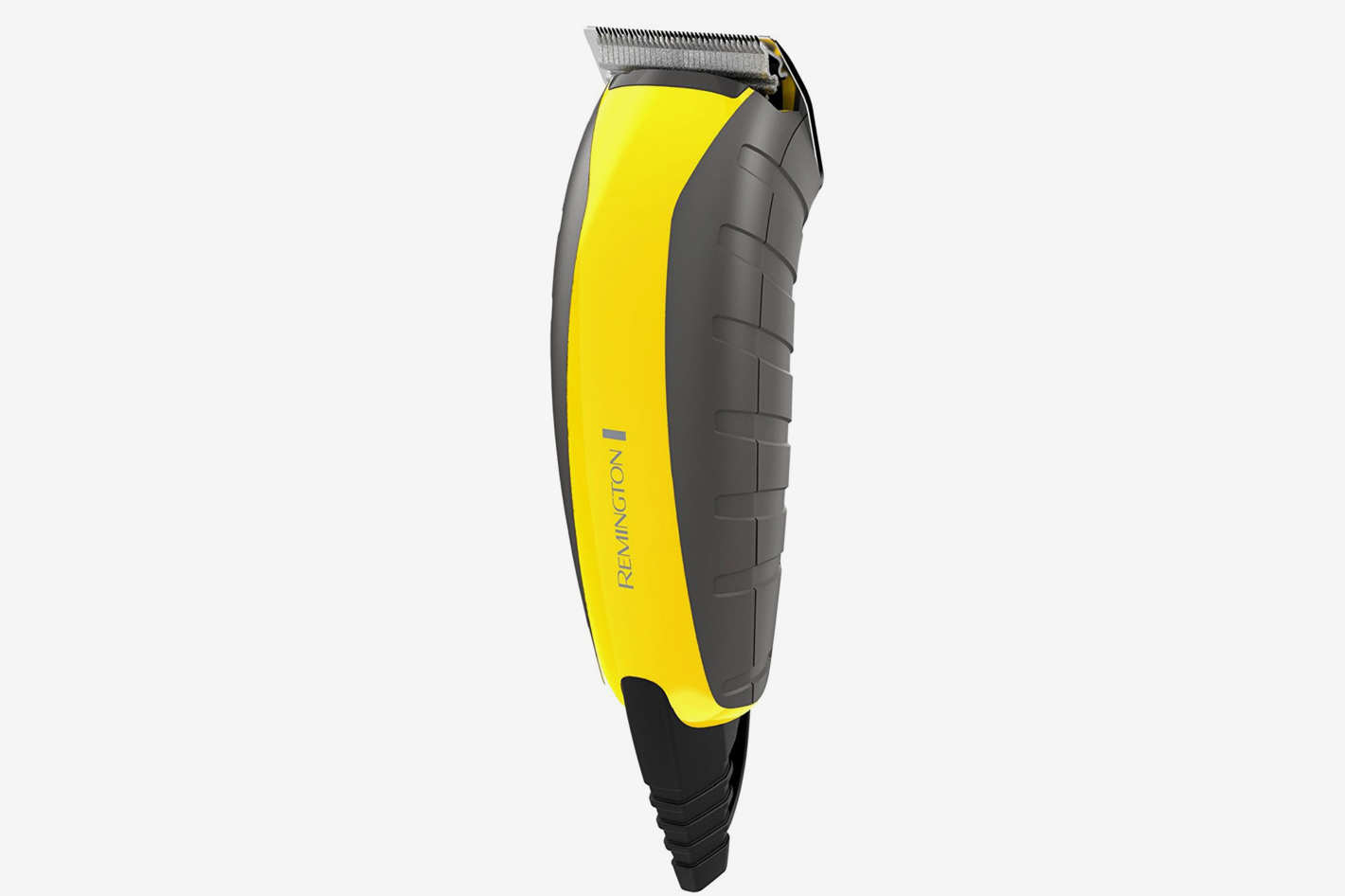 remington virtually indestructible beard trimmer yellow rubber