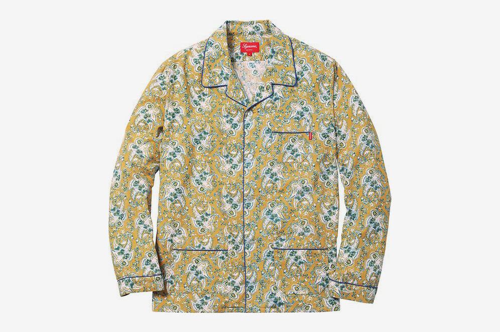 Supreme Paisley Flannel Pajama Set