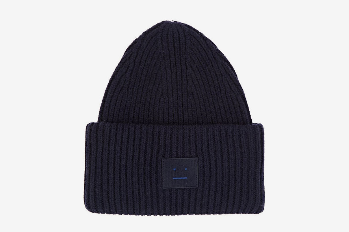 Acne Studios Pansy Wool-Blend Beanie