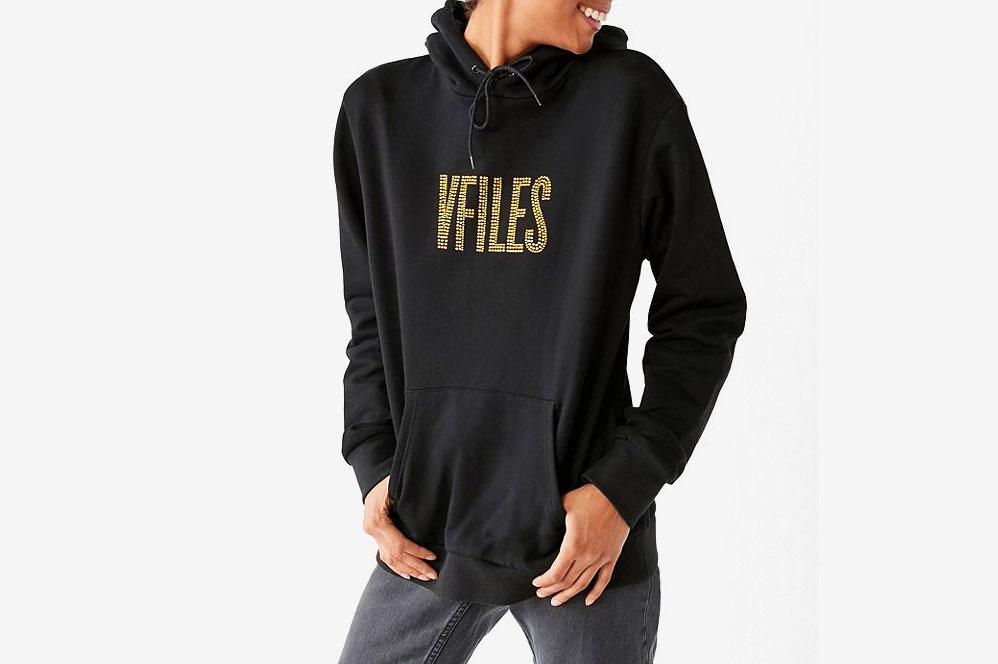 VFiles + UO Rhinestone Hoodie Sweatshirt