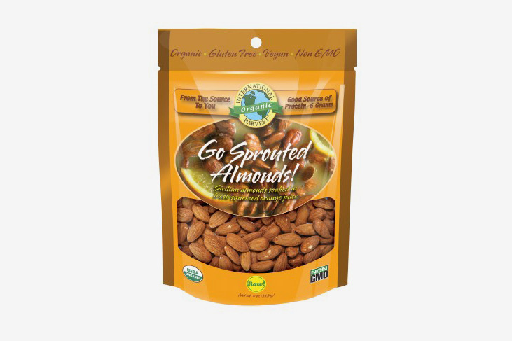 International Harvest Go Sprouted Almonds