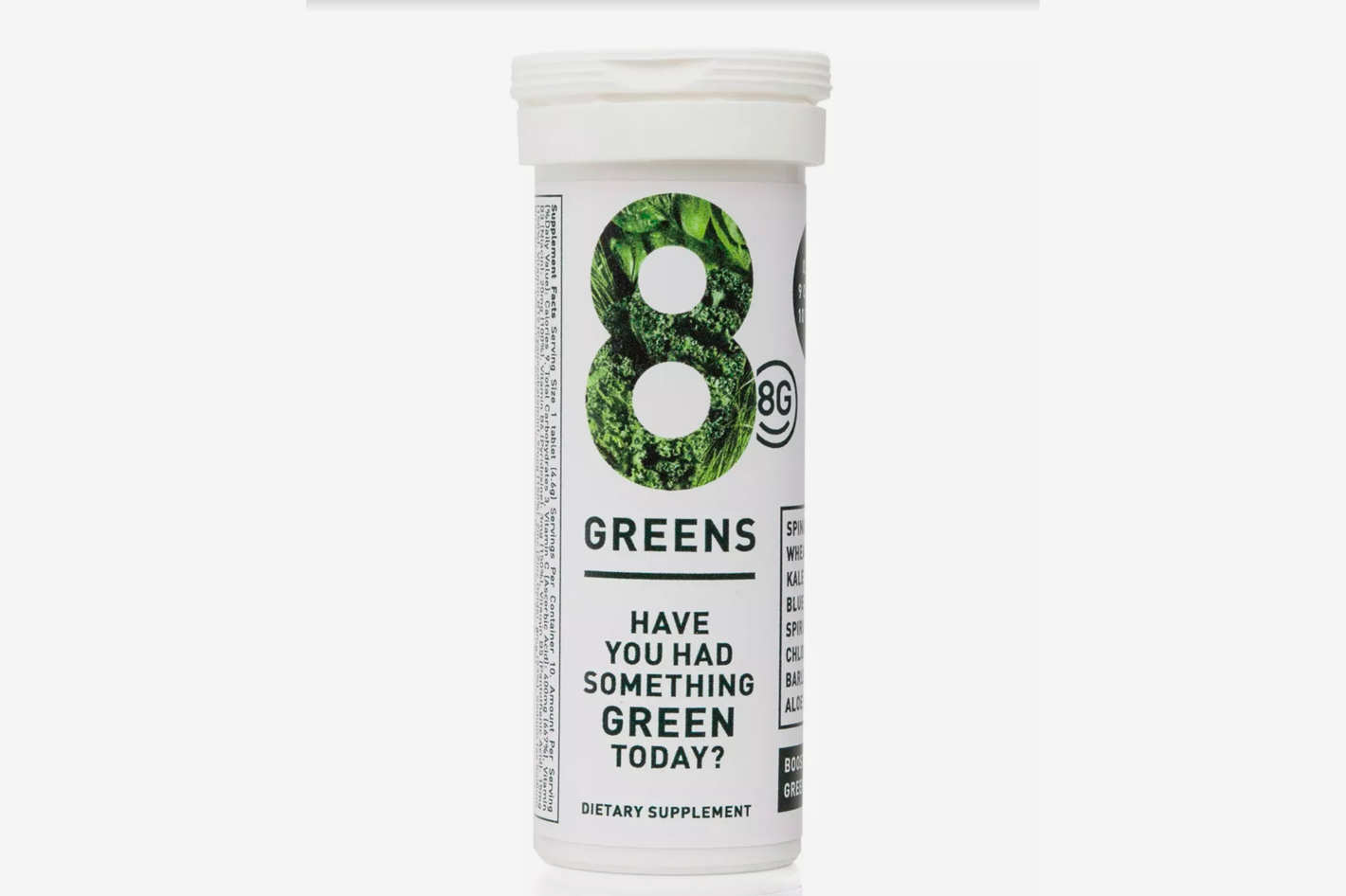 8 Greens Essential Greens Booster, 10 tablets
