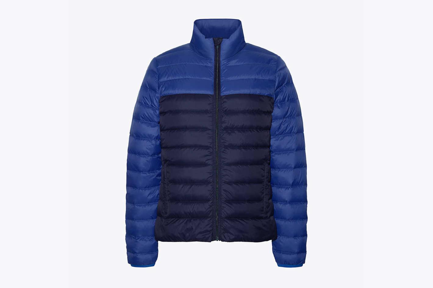 Color-Block Packable Down Jacket