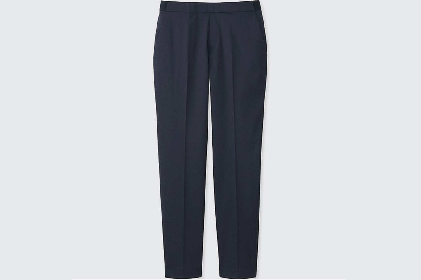 Uniqlo Satin Ankle-Length Pants