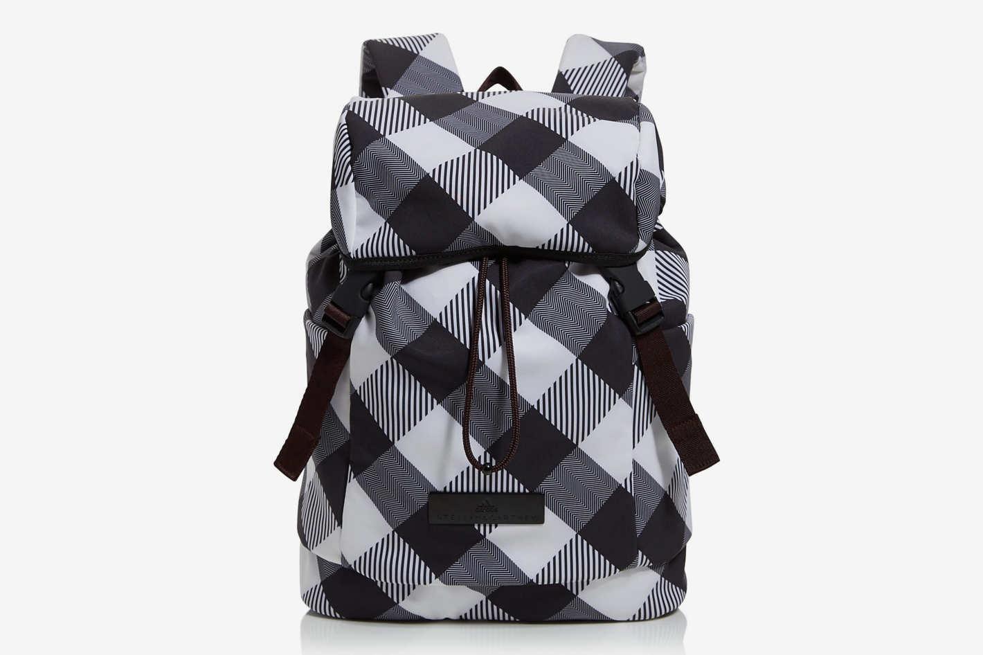 Adidas by Stella McCartney Gingham Backpack