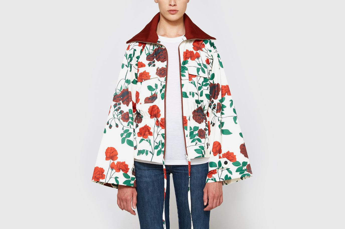 Ganni greenwood jacket