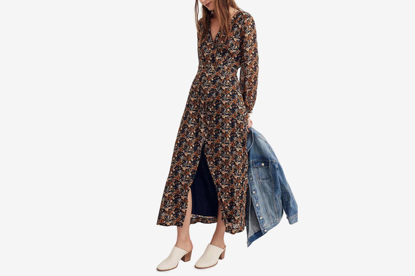 Madewell Nightflower Maxi Dress