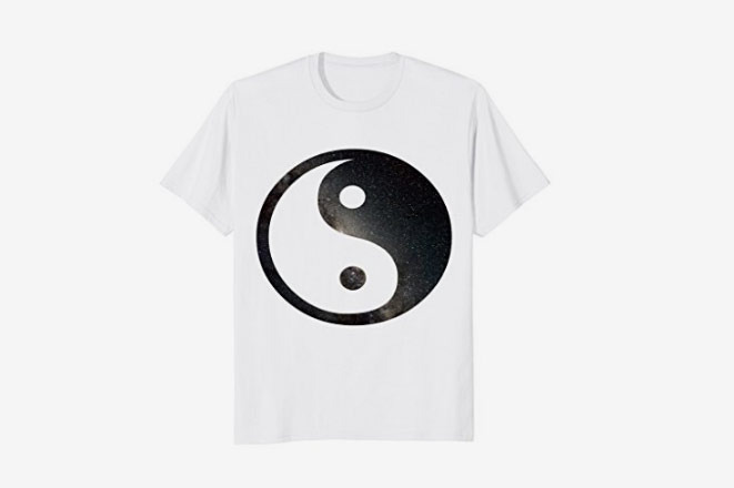 Space Yin Yang T-shirt