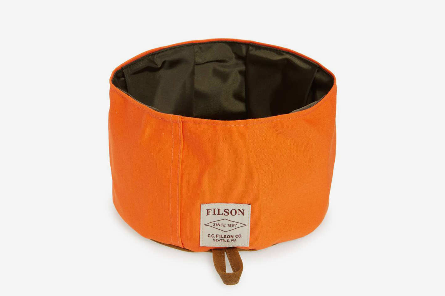 Filson Collapsible Dog Bowl