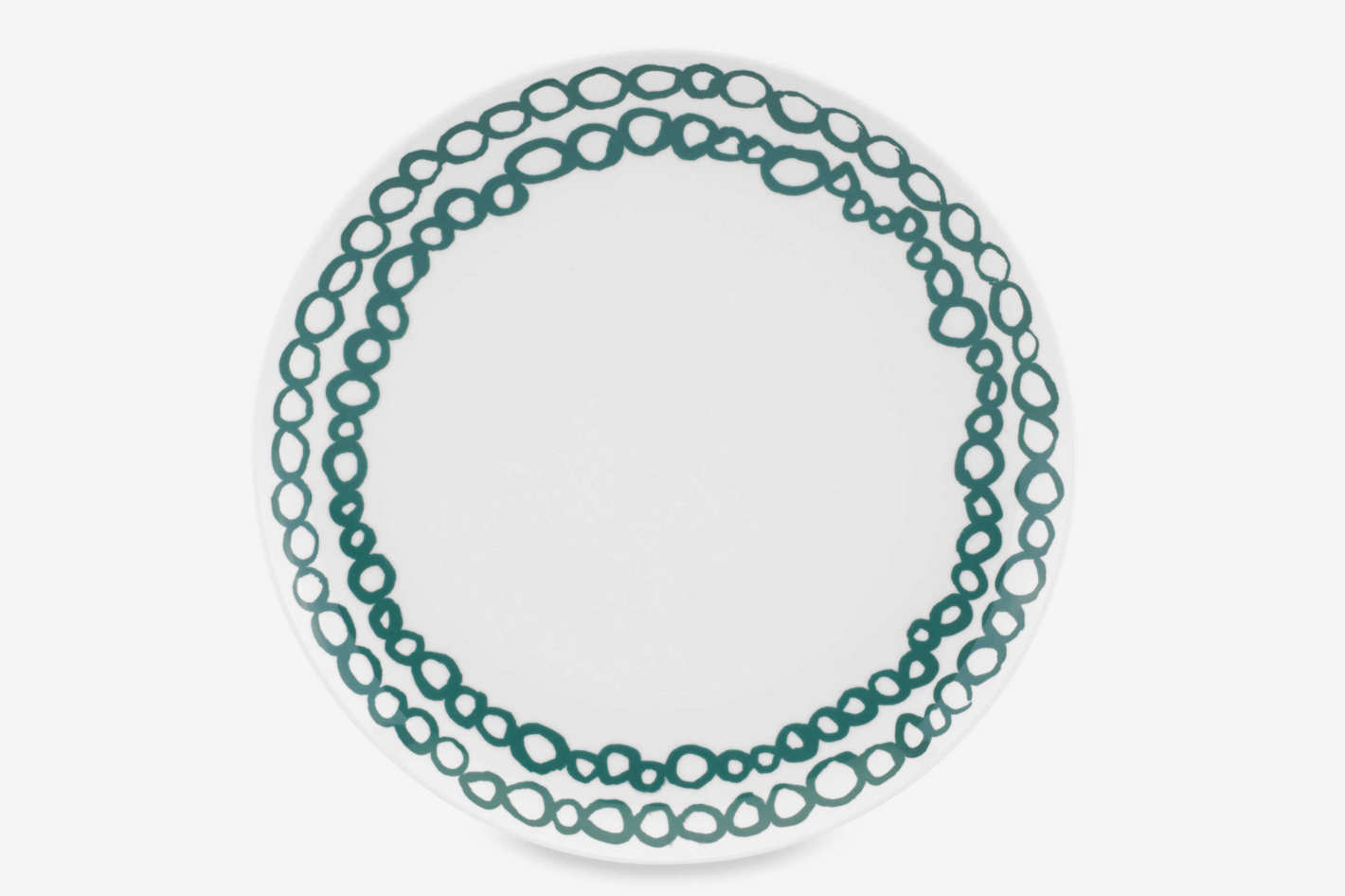 Dansk Lotta Elope 10.5-Inch Dinner Plate in Teal