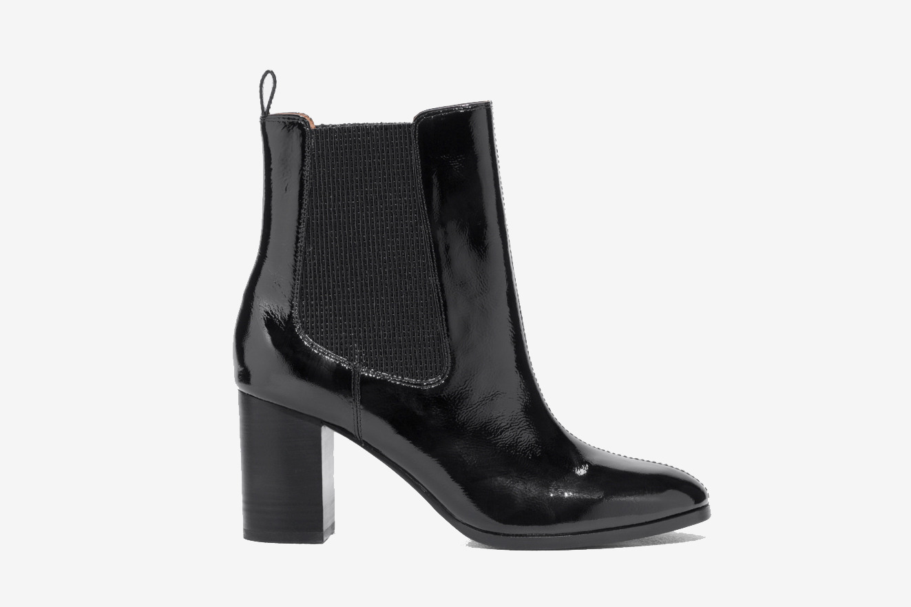 & Other Stories Patent Leather Chelsea Boot