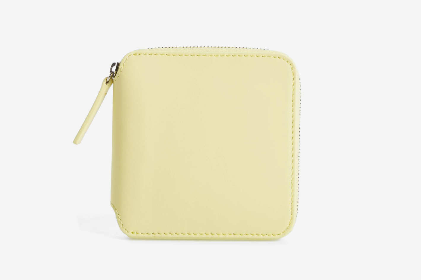 Baggu Zip Around Square Leather Wallet