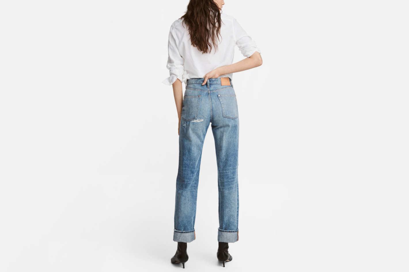 H&M Vintage Straight Jeans