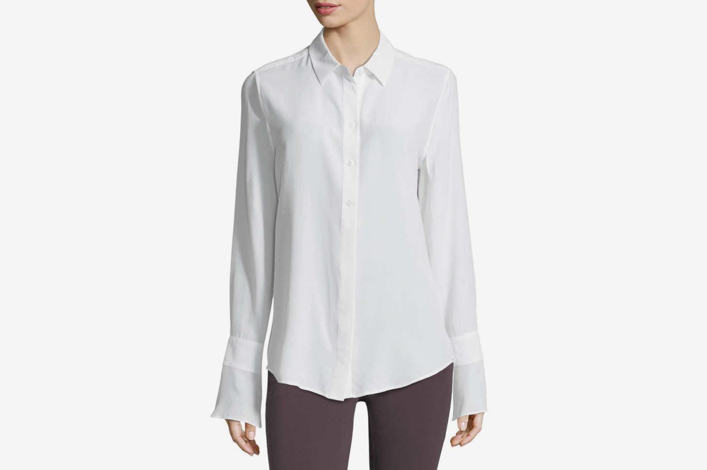 Equipment Daphne Button-Down Silk Shirt
