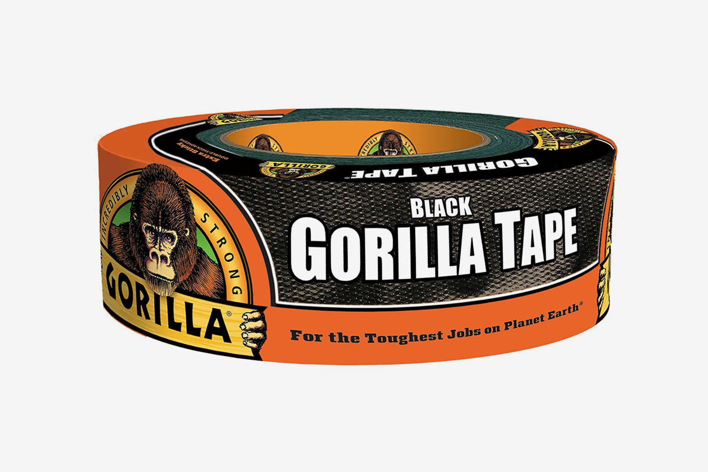 Gorilla 6035180 Tape, Black Duct Tape
