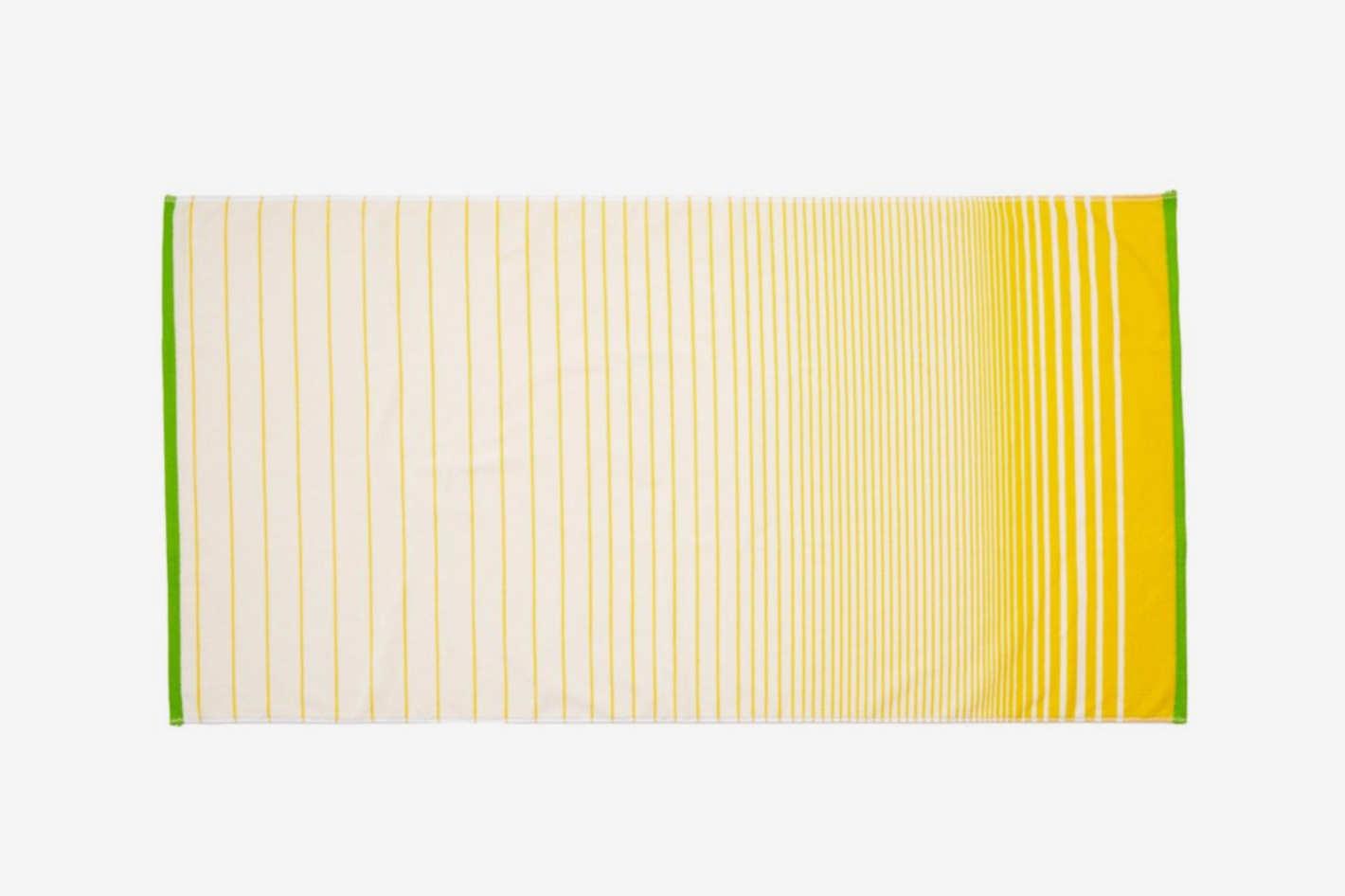 Striped Ssafia Beach Towel