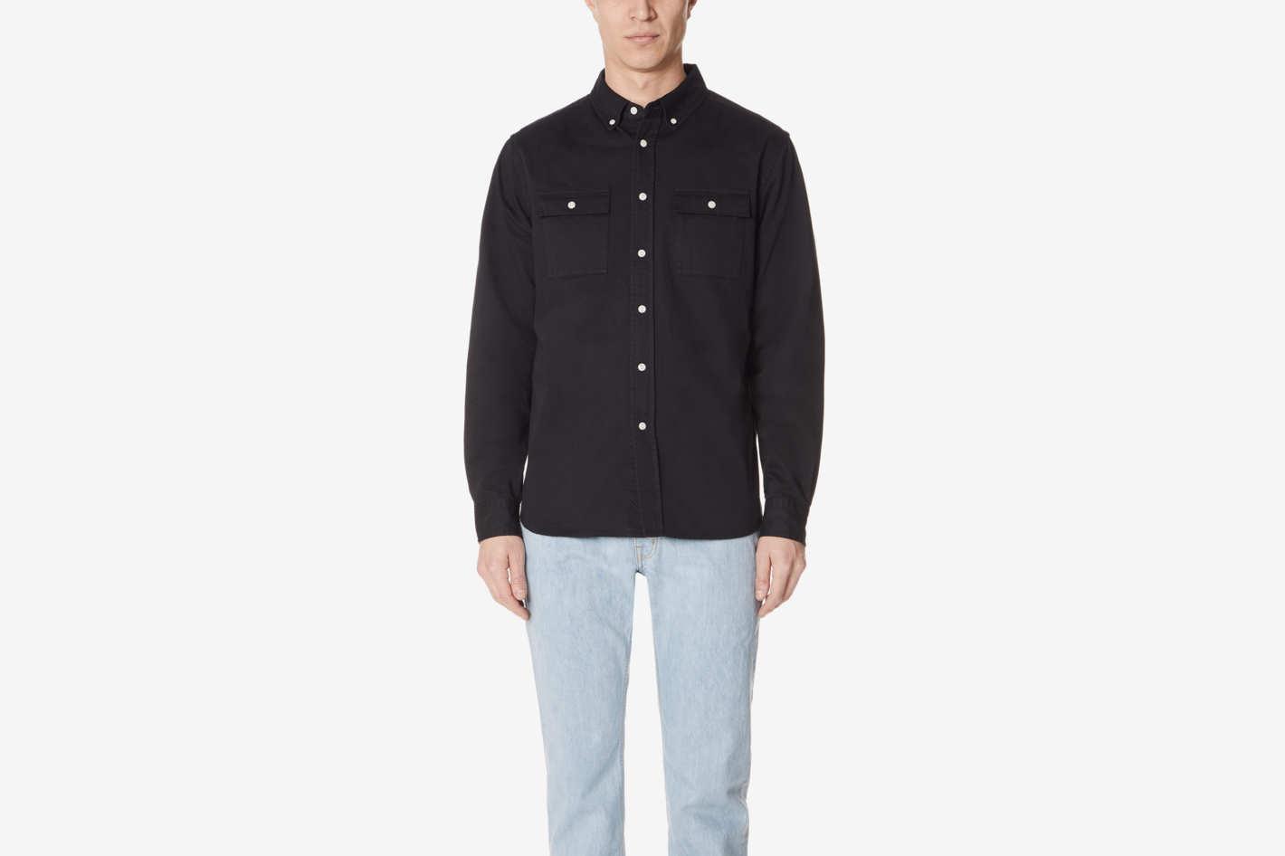 Saturdays NYC Angus Long Sleeve Shirt