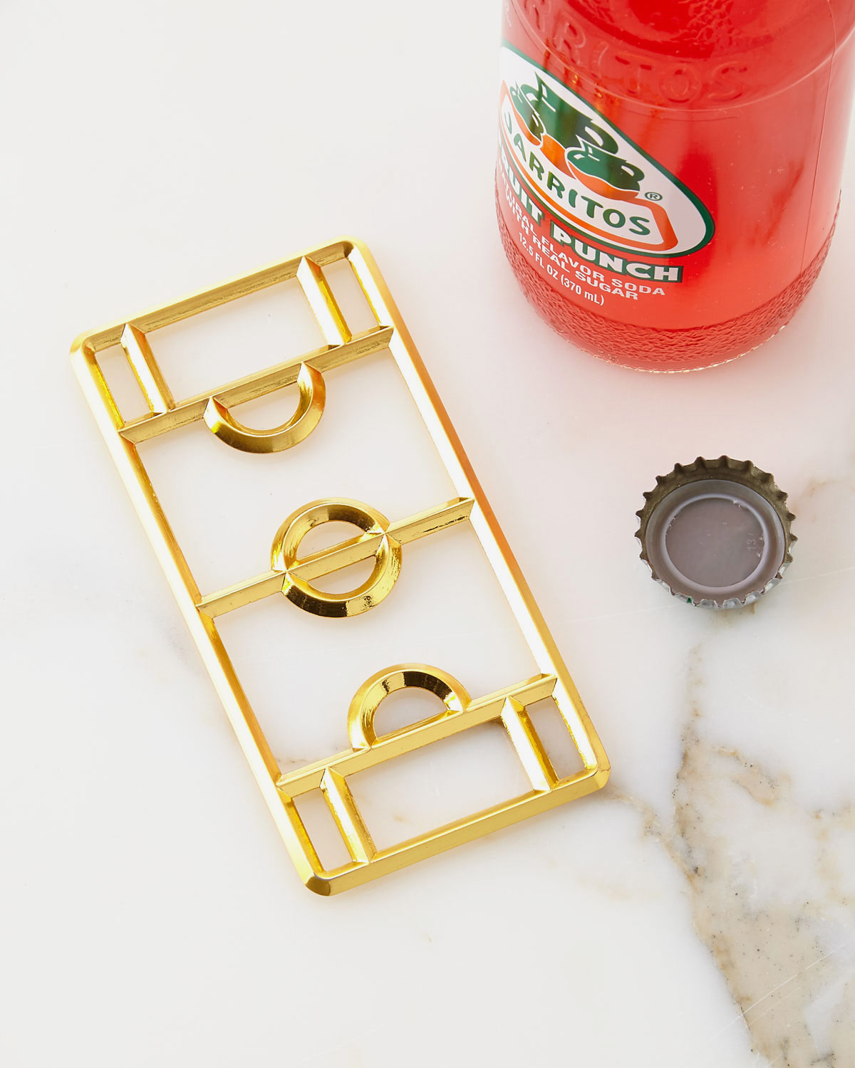 DOIY Stadium Bottle Opener, Golden