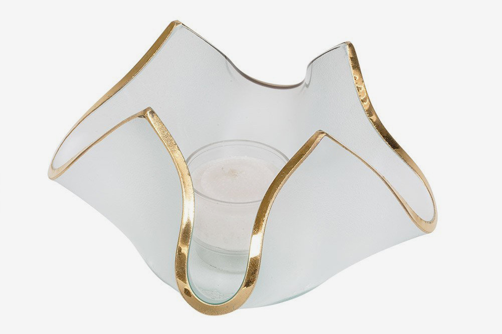 Annieglass Handkerchief - Votive Series (Gold)