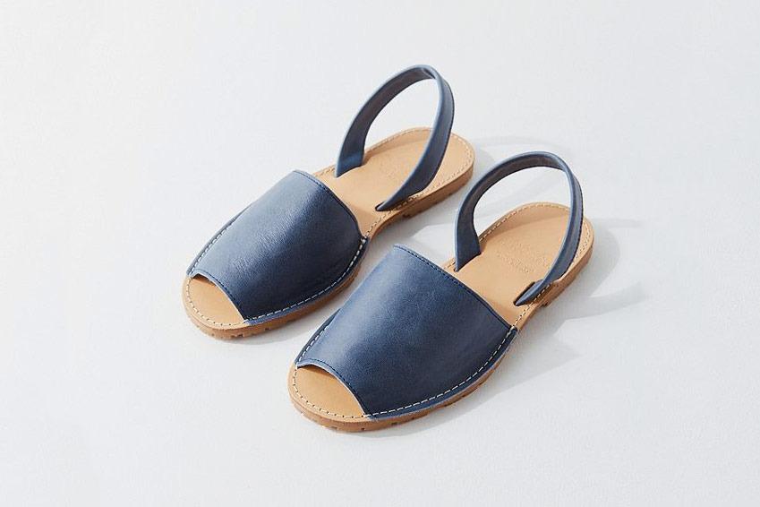 Bamba Europa Leather Avarca Sandal