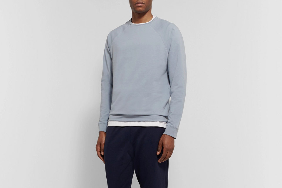 Handvaerk Stretch-Pima Cotton Sweatshirt