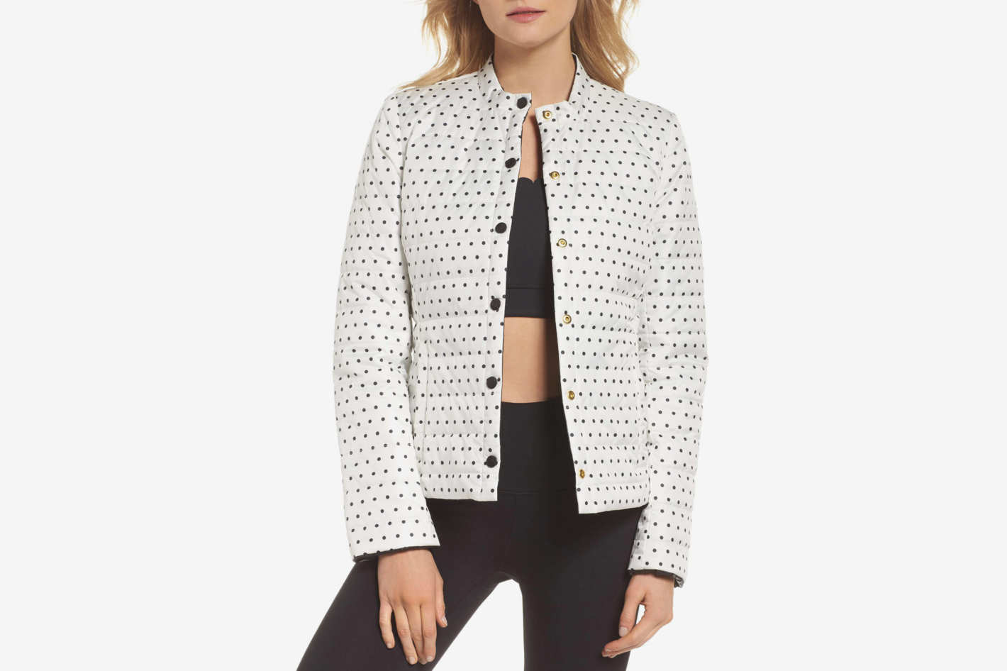 Kate Spade New York Reversible Quilted Jacket
