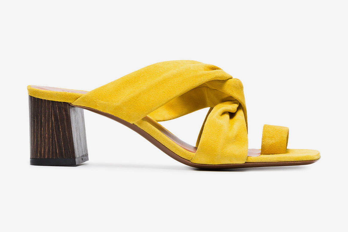 Neous Yellow Inopsis 55 Suede Mules