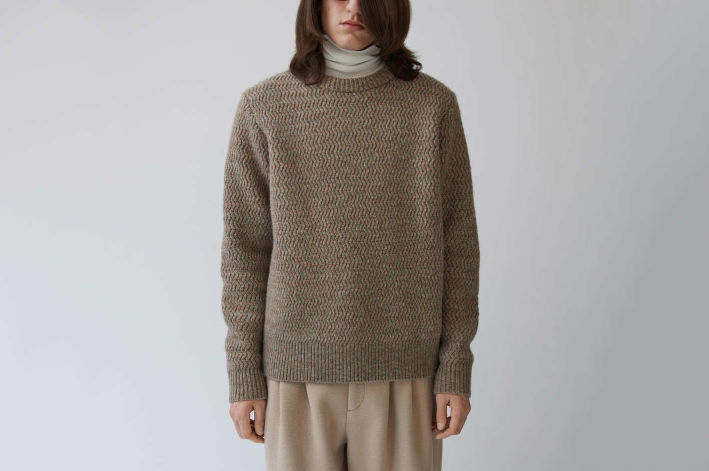 Nyle Herringbone Sweater