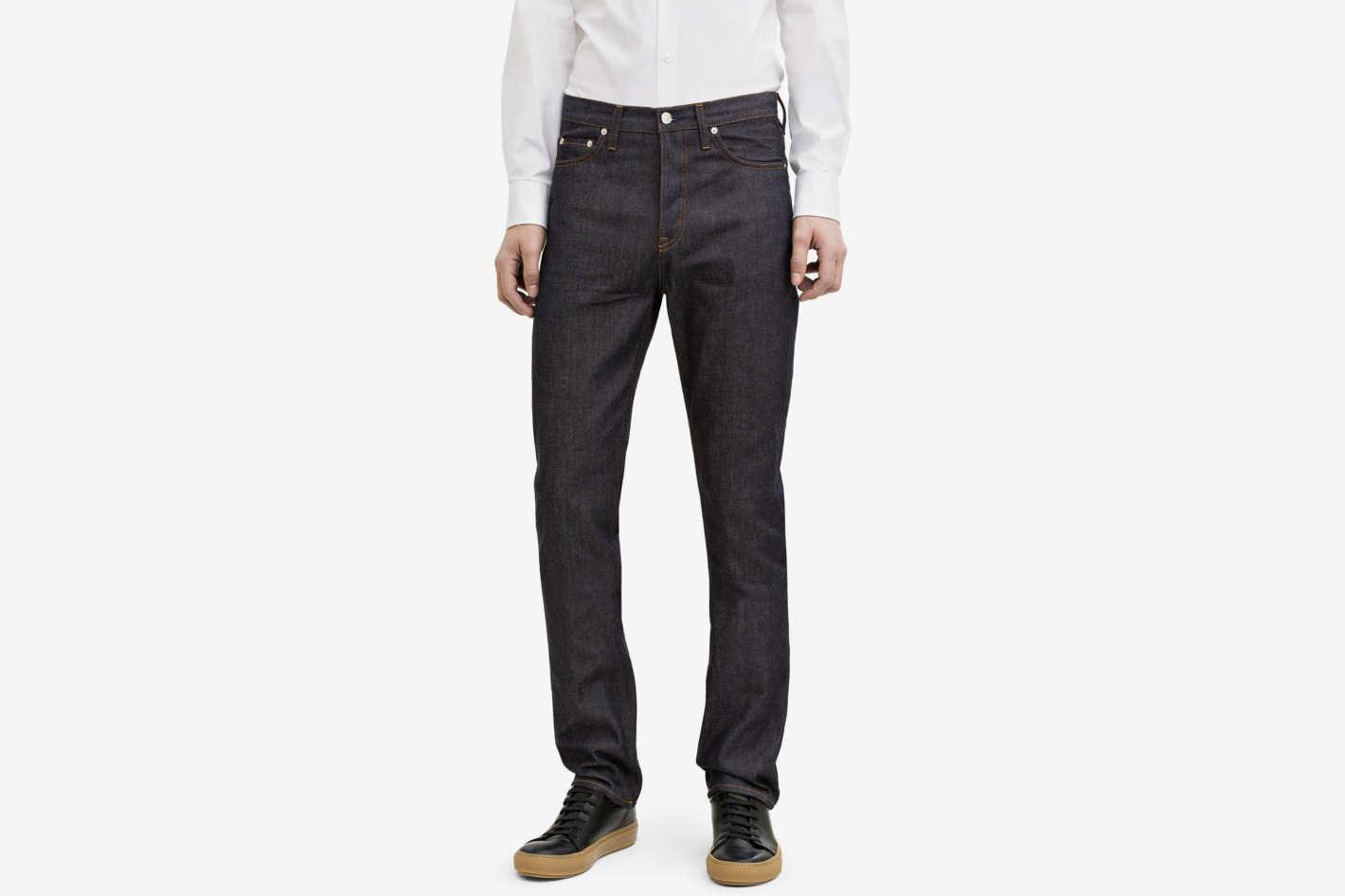 Van Raw Jeans