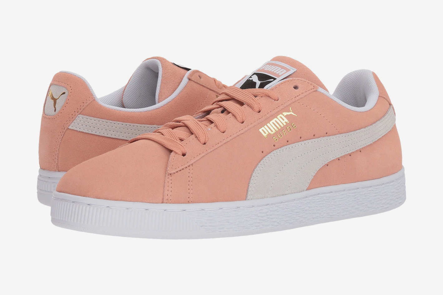 Puma Suede Classic in Muted Clay/Puma White
