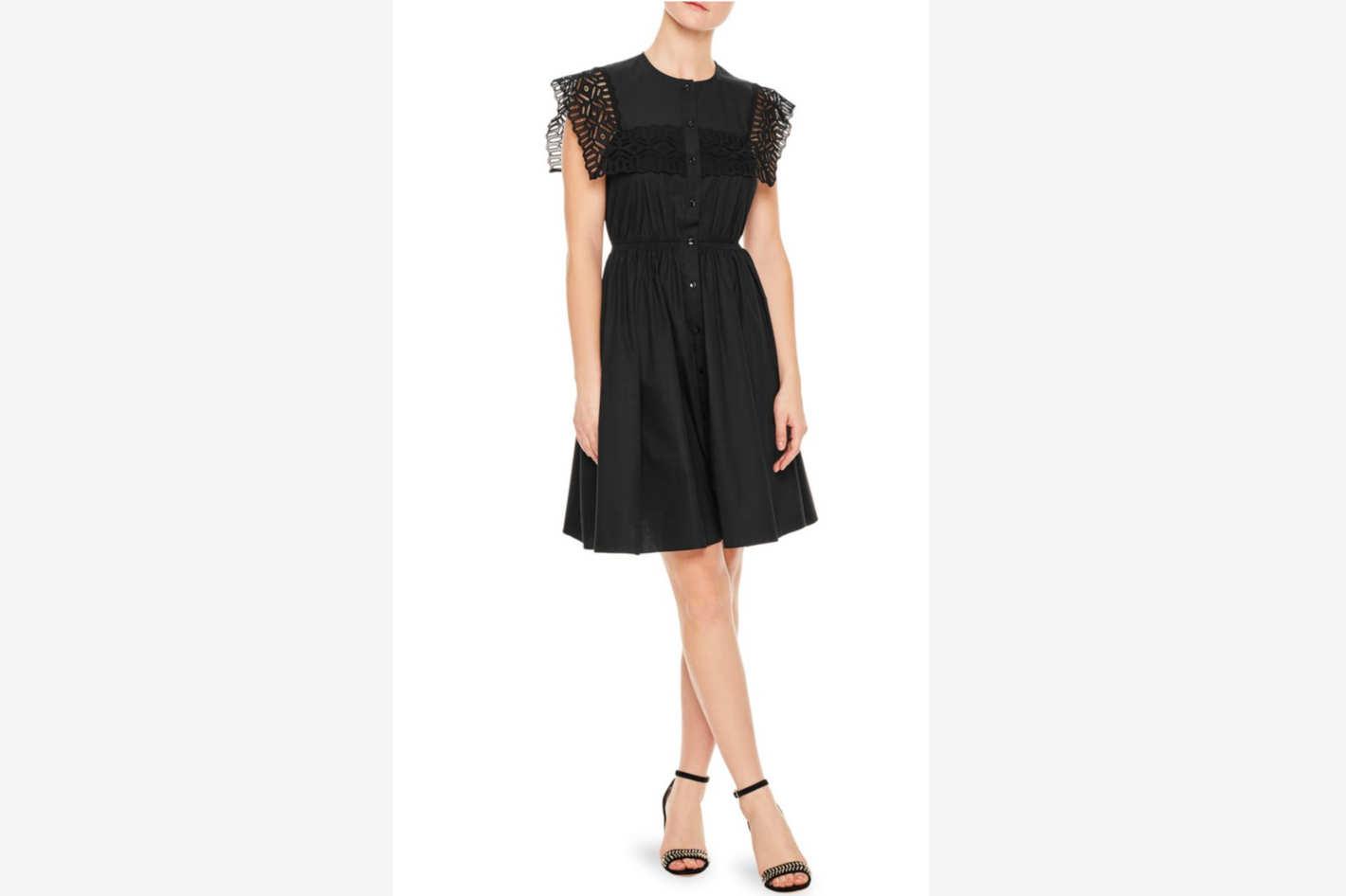 Sandro Lidwine Lace Dress