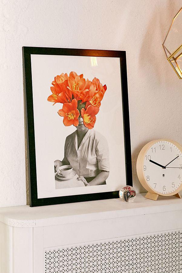 Hagar Vardimon Orange Art Print