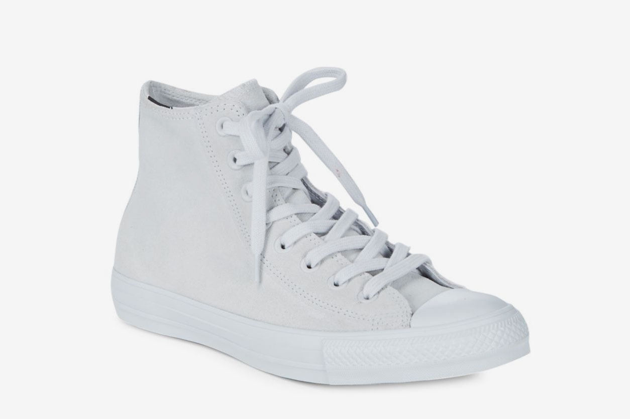 Converse High-Top Suede Sneakers