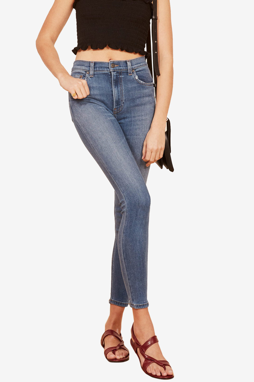 The Reformation Selma High & Skinny Jean