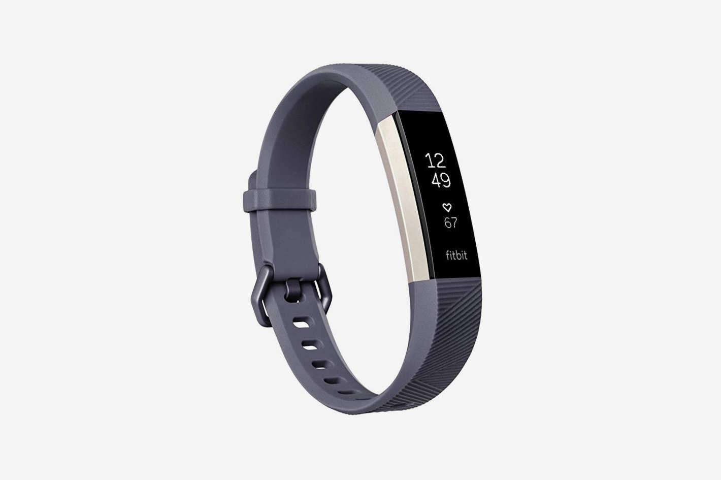 Fitbit Alta HR, Blue/Gray