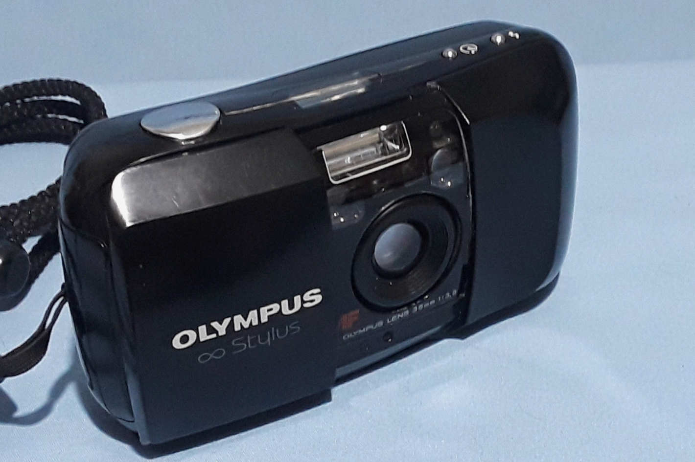 Olympus Infinity Stylus 35mm Point & Shoot Film Camera