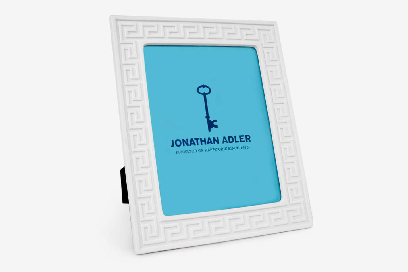 "Jonathan Adler Charade Greek Key 8"" x 10"" Picture Frame"
