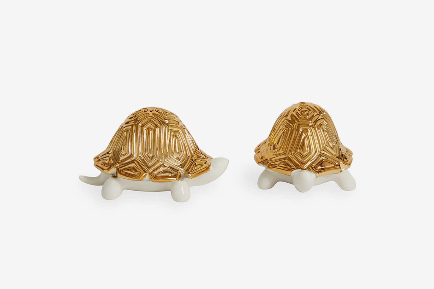 Jonathan Adler Tortoise Salt and Pepper Shakers