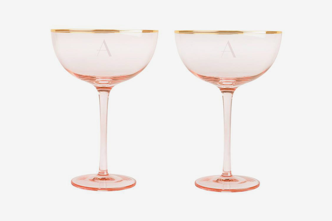 Cathy's Concept Monogram Champagne Coupes