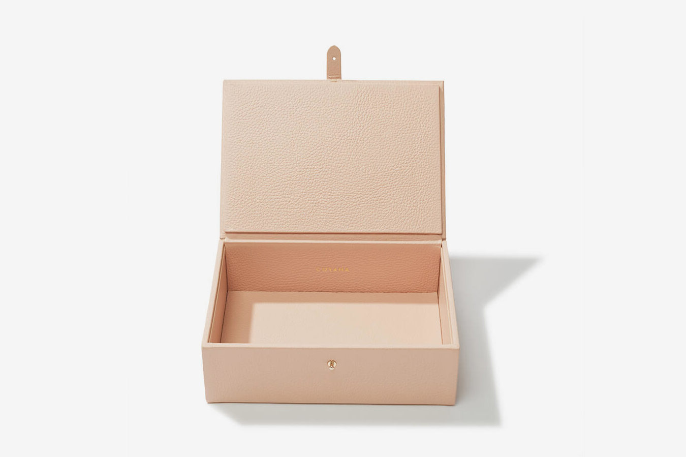 Cuyana Structured Leather Box