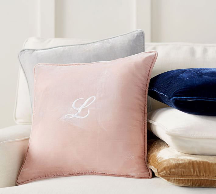 Pottery Barn Nia Velvet Pillow Cover