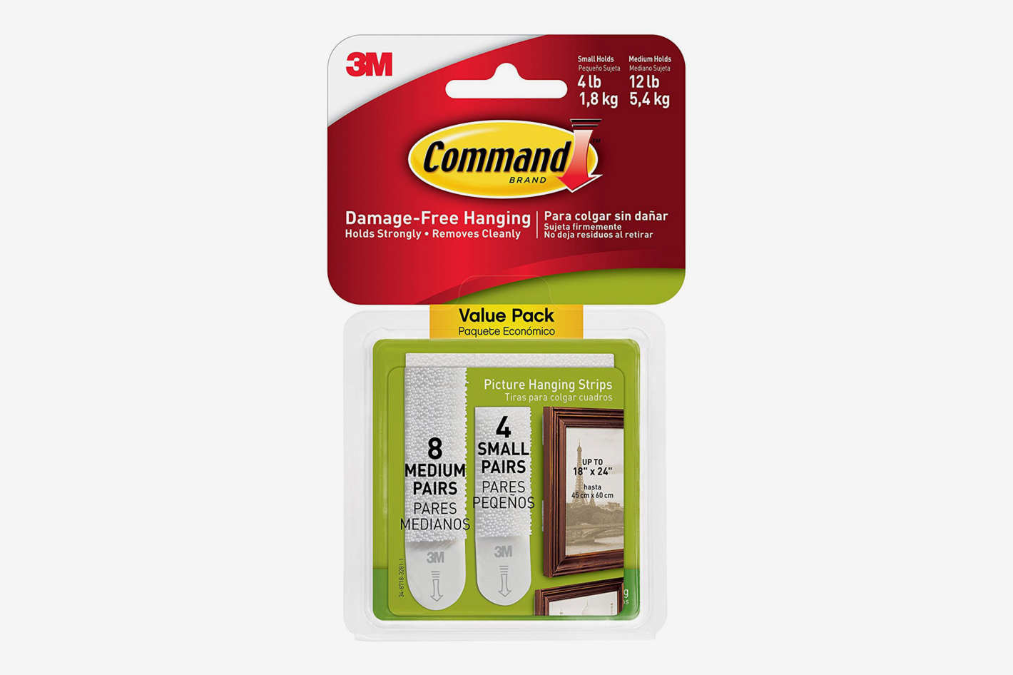 Command Picture Hanging Strips Variety Value Pack